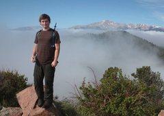 Rock Climbing Photo: top of Blodgett's