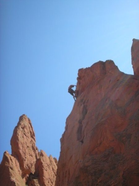 Garden of the Gods : Potholes 5.9