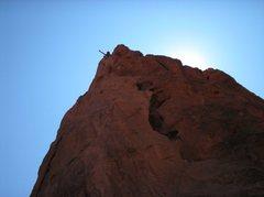 Rock Climbing Photo: topholes