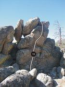 Rock Climbing Photo: Route 13.