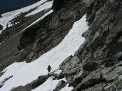 Rock Climbing Photo: Craig Dixon between glaciers