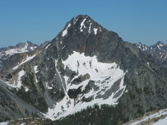Rock Climbing Photo: A 100 highest in Wa list peak.  Can't remember whi...