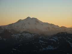 Rock Climbing Photo: Sunset on Glacier Peak