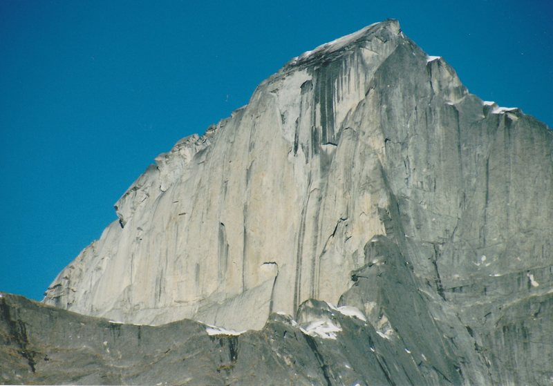 Rock Climbing Photo: Just name the peak.