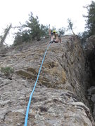 Rock Climbing Photo: Finally got some gear! Erik H on lead