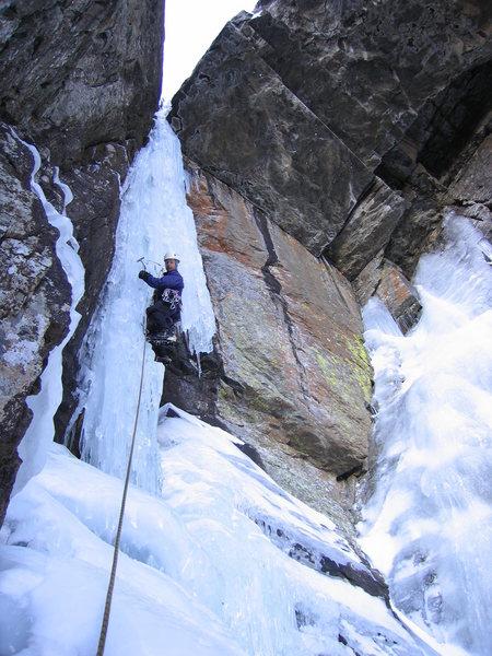 Rock Climbing Photo: Terry the Taxman in action