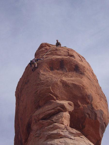 Rock Climbing Photo: more desert