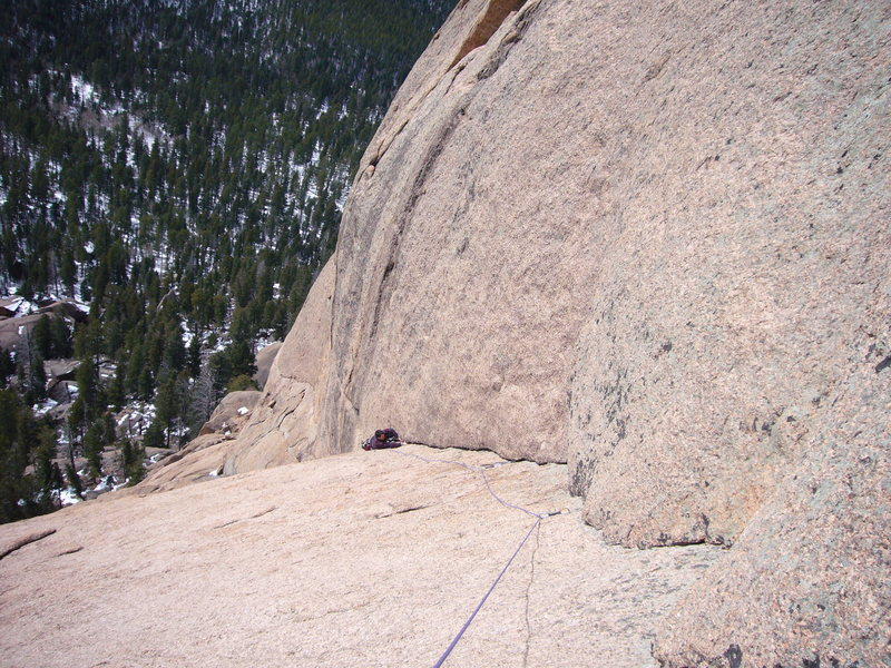 Rock Climbing Photo: Wide open spaces