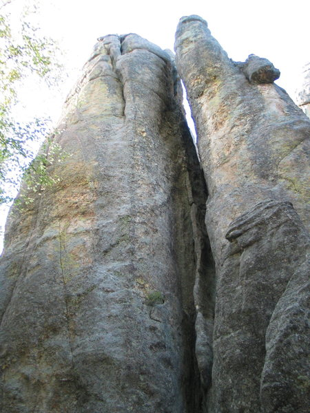 Rock Climbing Photo: This spire Me and lindsay think might be #16 from ...