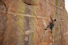 Rock Climbing Photo: Climbing at Mt. Lemmon