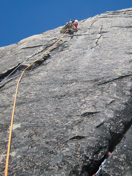 Loving the sweet cracks on pitch 3 of Ironman
