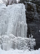 Rock Climbing Photo: more ice along the highway