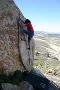 Rock Climbing Photo: Perfect day on the beautiful problem Helix.