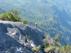 Rock Climbing Photo: Joe exploring