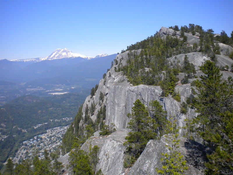 Rock Climbing Photo: The North Summit of The Chief