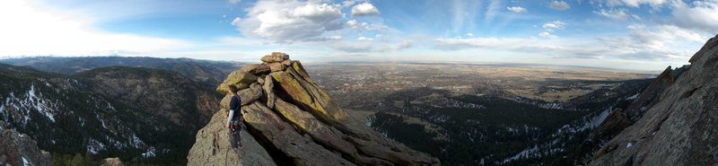 Rock Climbing Photo: Summit shot.