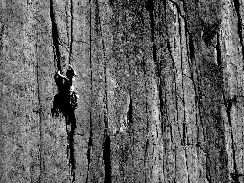 Rock Climbing Photo: Alexa on TR