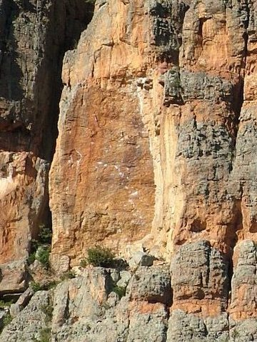 Rock Climbing Photo: What's the crack?