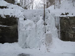 Rock Climbing Photo: Frozen Main Flow