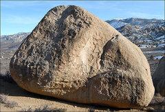 Rock Climbing Photo: Drifter Boulder. Photo by Blitzo.