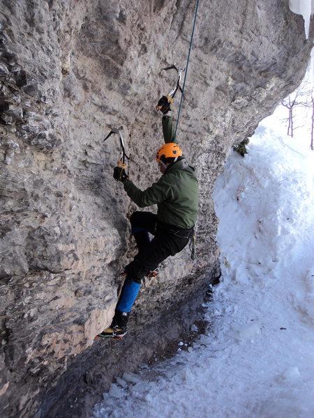 Rock Climbing Photo: Secret Probation.