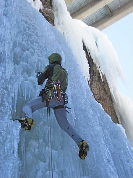 Rock Climbing Photo: under the bridge Ouray, fragile and changing state...