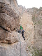 Rock Climbing Photo: Into the second traverse on Scenic Cruise. Lovin' ...