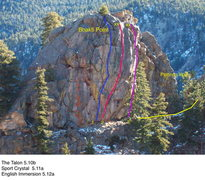 Rock Climbing Photo: The Point.