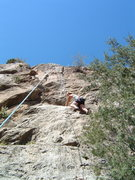 Rock Climbing Photo: Moral Decay at the Puoux.