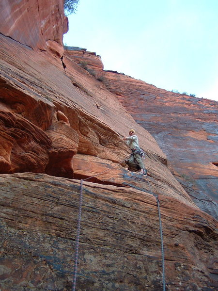 Eighth pitch of Monkeyfinger