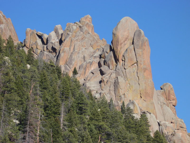 Rock Climbing Photo: West Side.