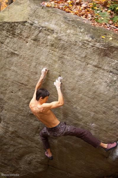 Rock Climbing Photo: Pocket Problem