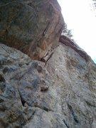 Rock Climbing Photo: Bolts & Hoes.