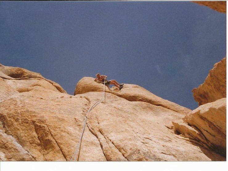 Rock Climbing Photo: Sean.