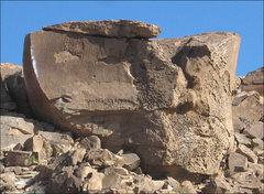 Rock Climbing Photo: Atari Boulder. Photo by Blitzo.
