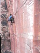 Rock Climbing Photo: Joseph Smith doing the FFA of Save it for a rainy ...
