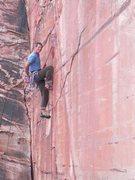 Rock Climbing Photo: Joseph Smith doing the FFA of Save it for a rainy ...