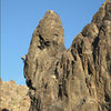 Climbers on Crucified Crag.<br> Photo by Blitzo.