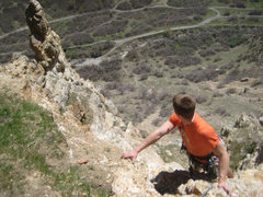Rock Climbing Photo: An interesting perspective on Rock Canyon from Tre...