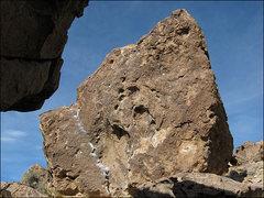 Rock Climbing Photo: Corner Boulder. Photo by Blitzo.