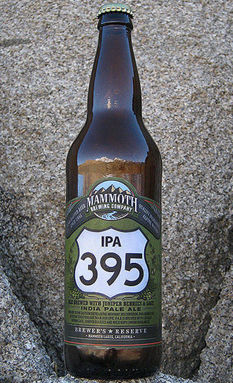 Rock Climbing Photo: Try Mammoth Brewing IPA 395, brewed with juniper b...