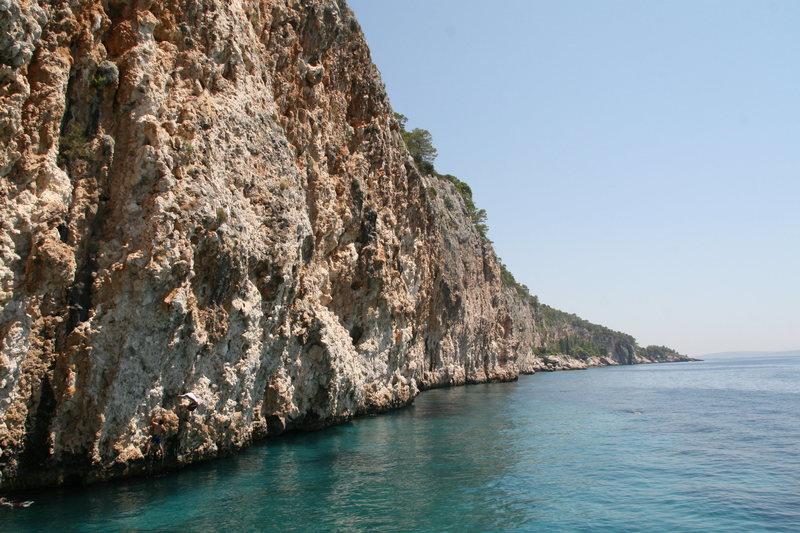 The DWS cliff face.