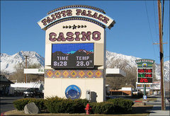 Rock Climbing Photo: Paiute Palace Casino. Lose your money and get gas....