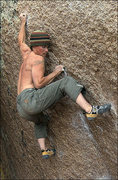 "Rock Climbing Photo: Danny Girard on ""Stained Glass"" V10. Pho..."