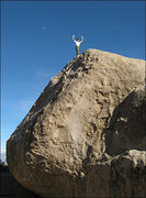"Rock Climbing Photo: A happy climber after sending ""High Plains Dr..."