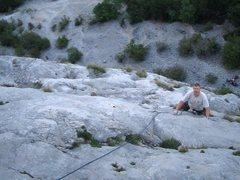 Rock Climbing Photo: Coming up Via Trento. Photo by paintrain