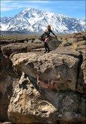 Rock Climbing Photo: Fun at the volcanic tablelands. Photo by Blitzo.
