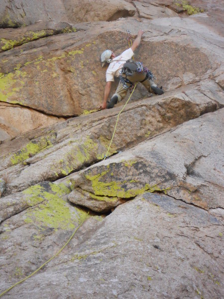Rock Climbing Photo: Route Crux...not for short people
