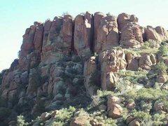 Rock Climbing Photo: Stormwatch Wall