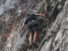 Rock Climbing Photo: Massone's Sector A:  easy but excellant routes can...
